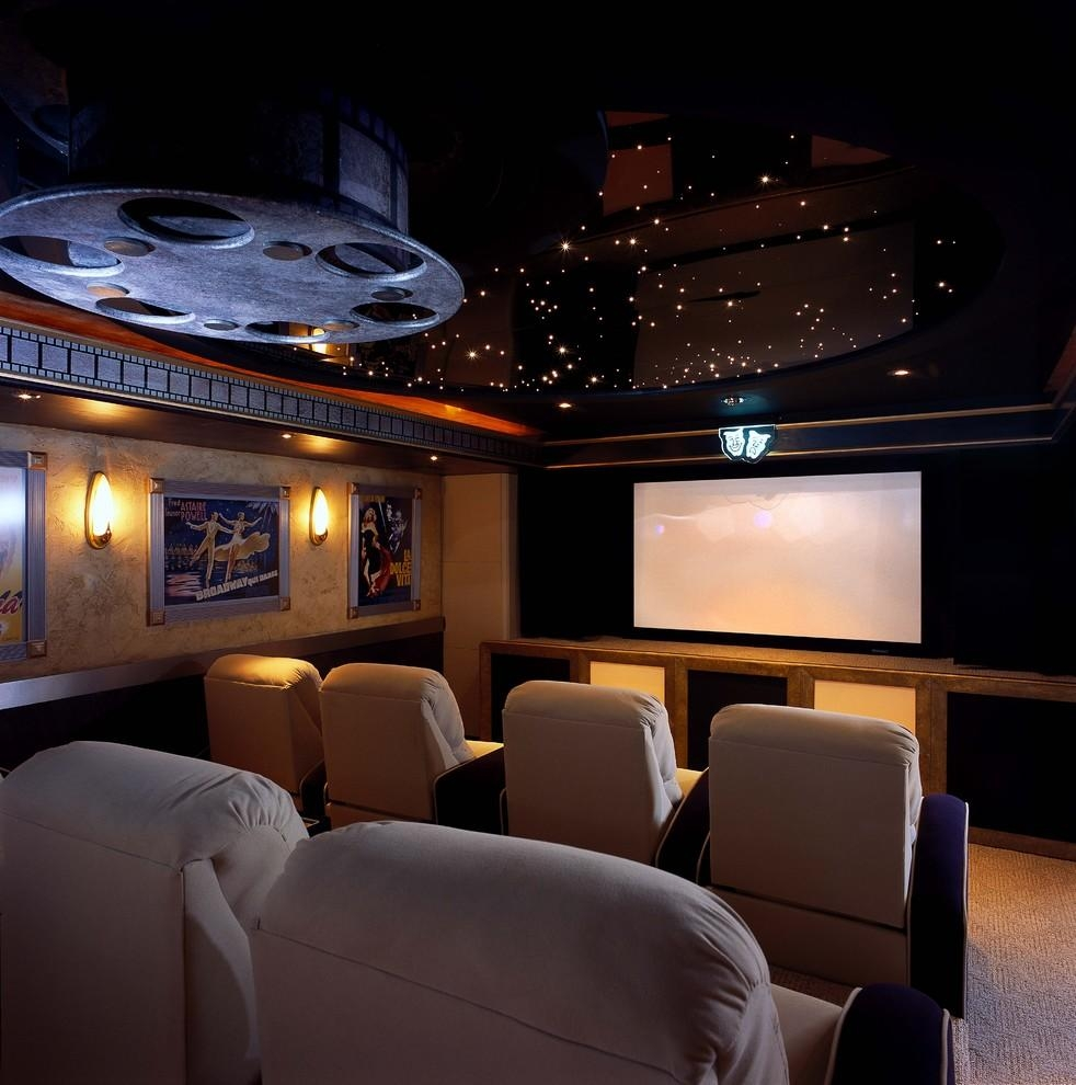 Innovative Picture Of Astounding Home Theater Wall Art Decorating Within Home Theater Wall Art (View 17 of 20)