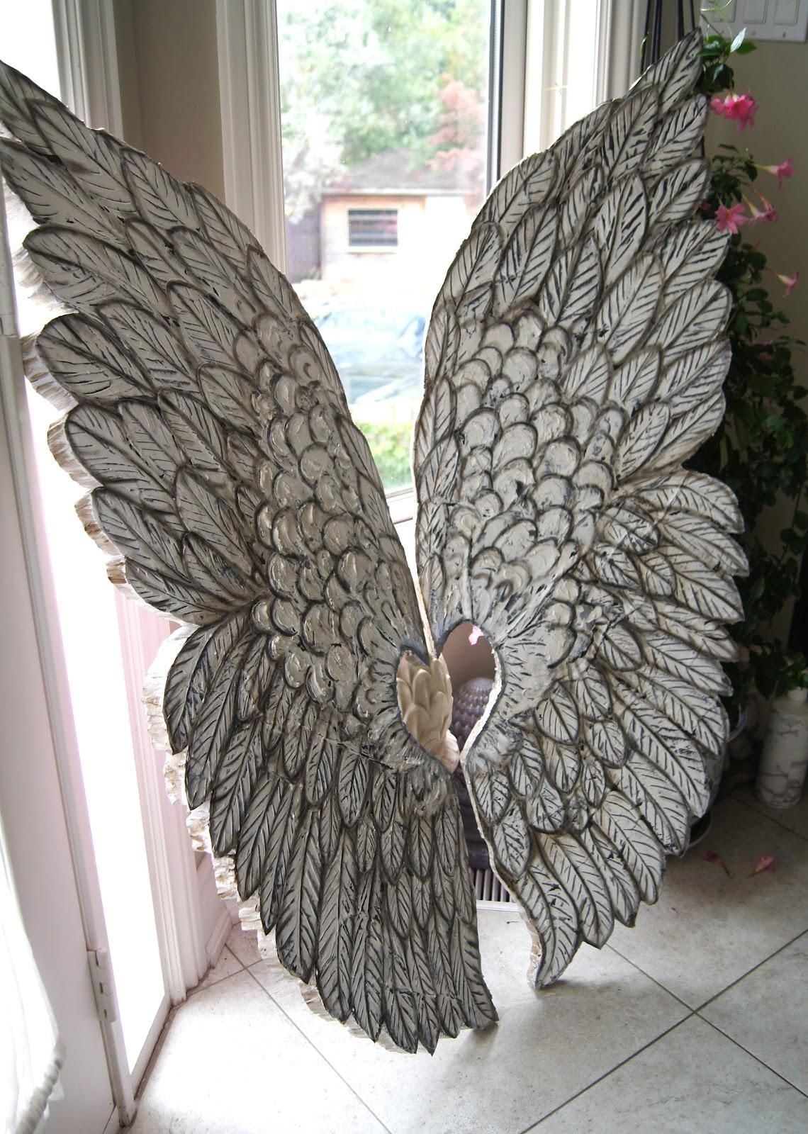 Innovative Wooden Angel Wings Wall Decor 141 Wooden Angel Wings Pertaining To Angel Wings Wall Art (Image 15 of 20)