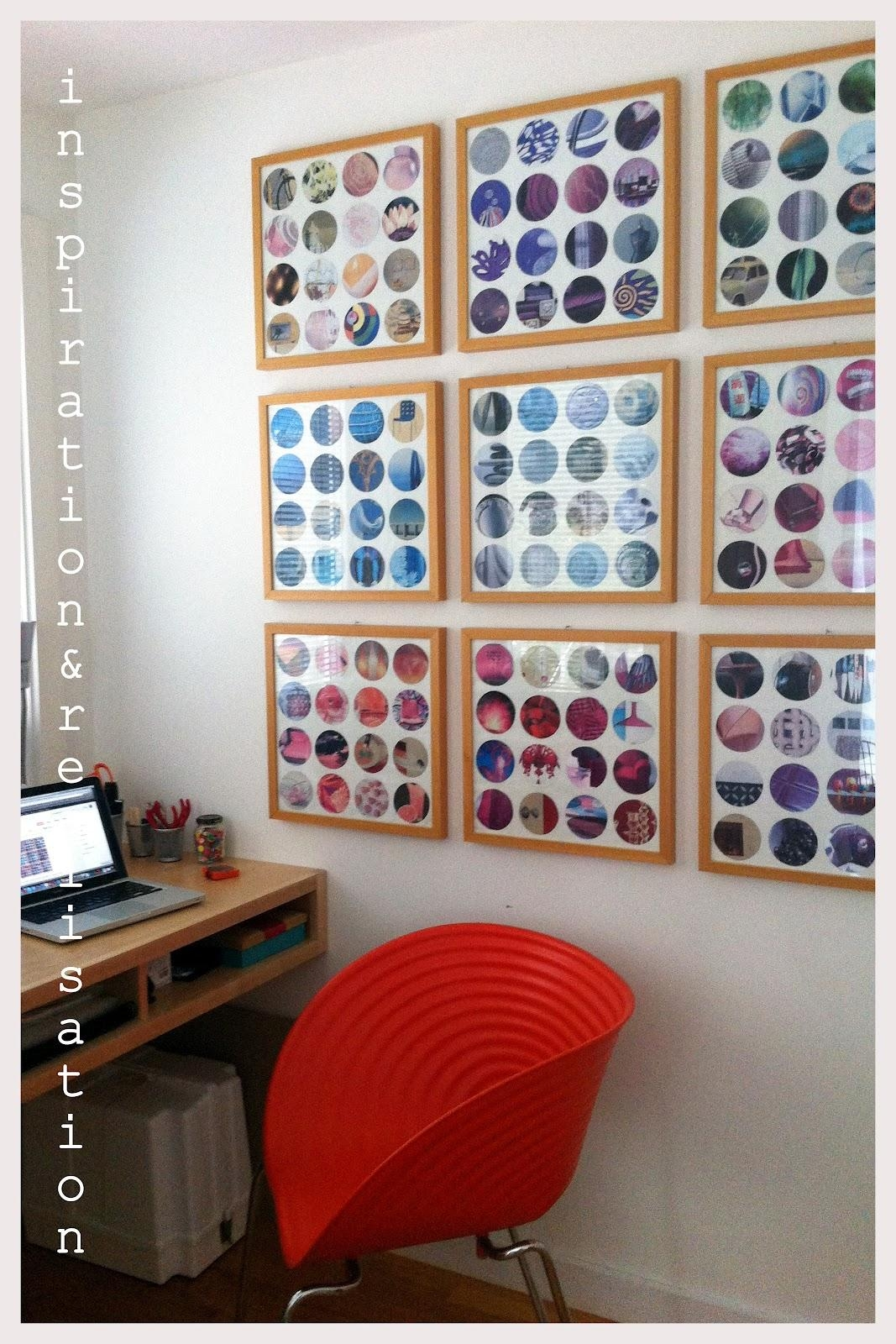 Inspiration And Realisation: Diy Fashion Blog: Diy Recycled With Regard To Recycled Wall Art (Image 11 of 20)