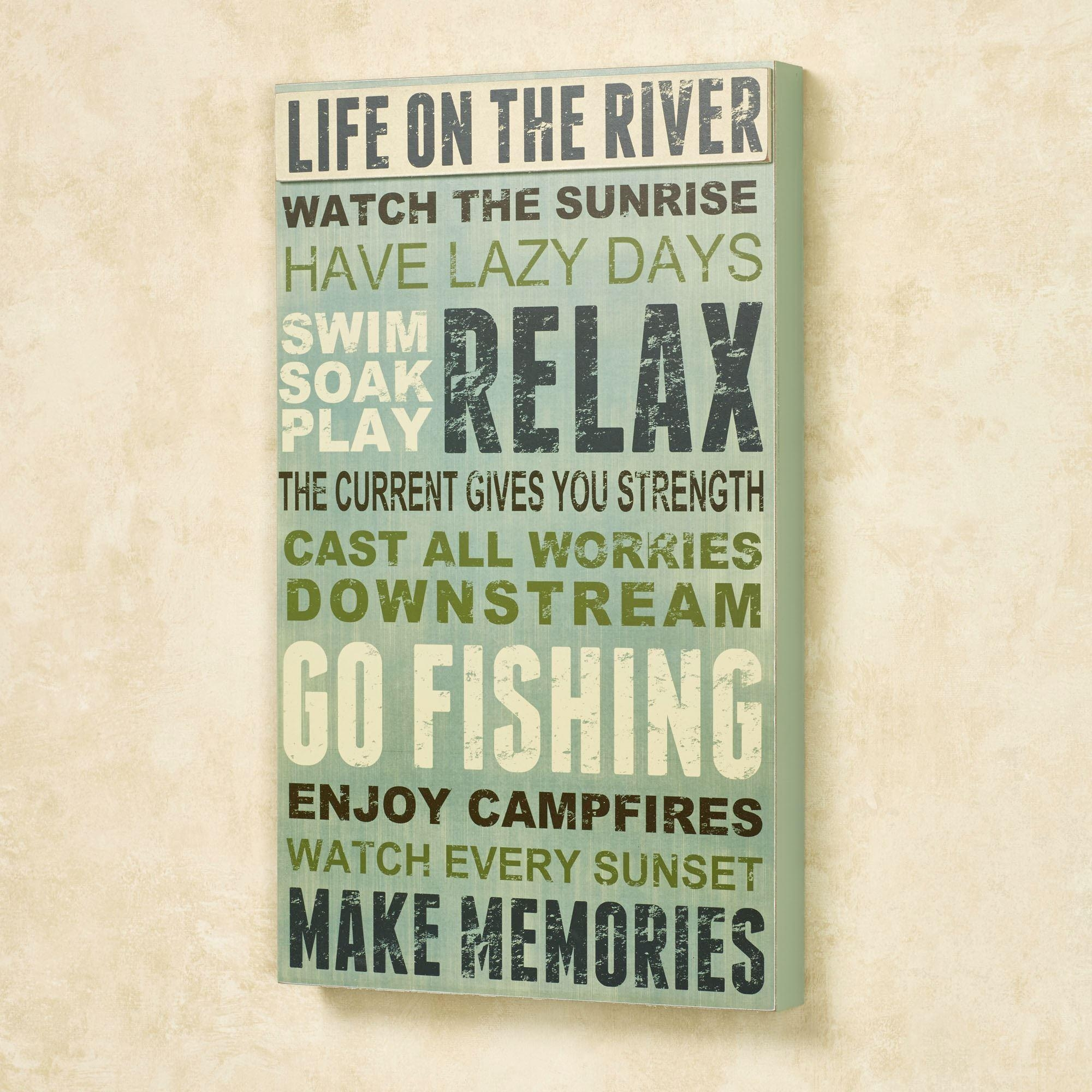 Featured Photo of Inspirational Wall Plaques