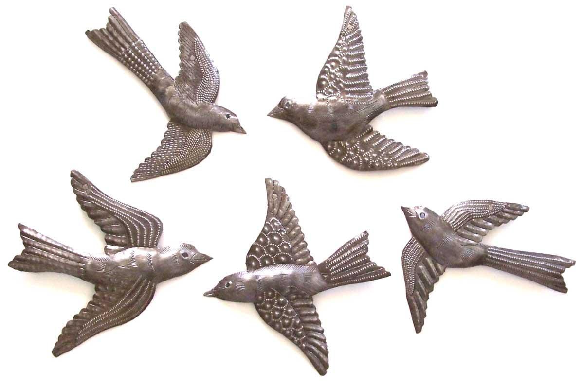 Inspiring Bird Wall Art Ideas With Beautiful Design | Home inside Flying Birds Metal Wall Art