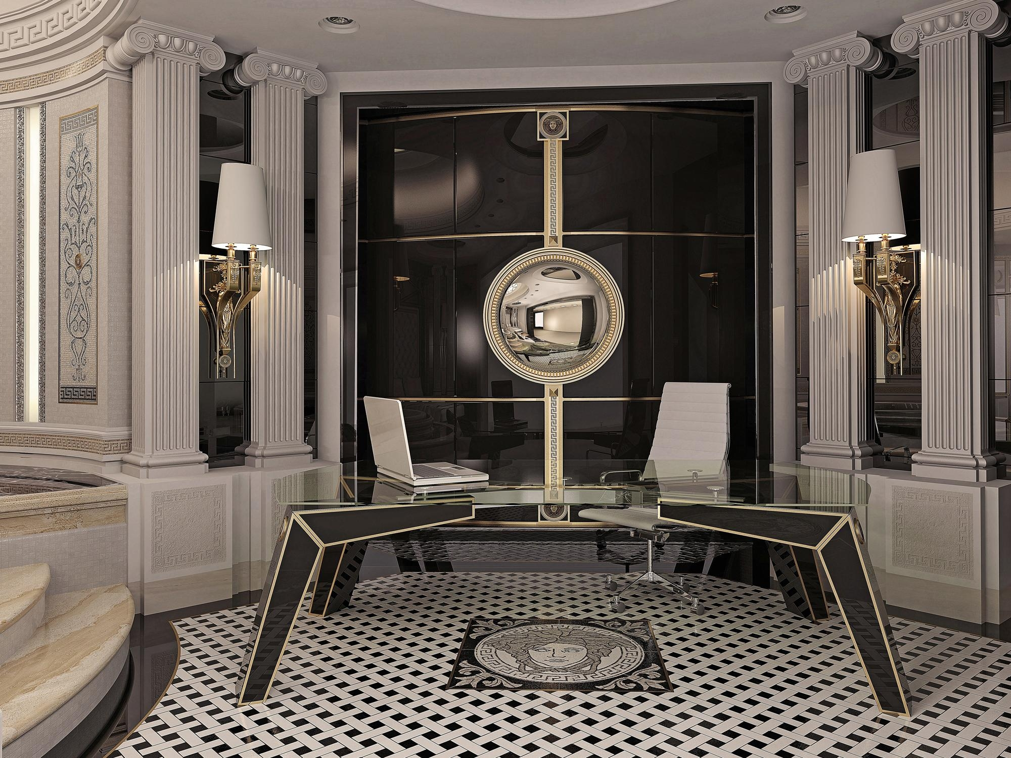 Interior And Art Files: Versace Home within Versace Wall Art