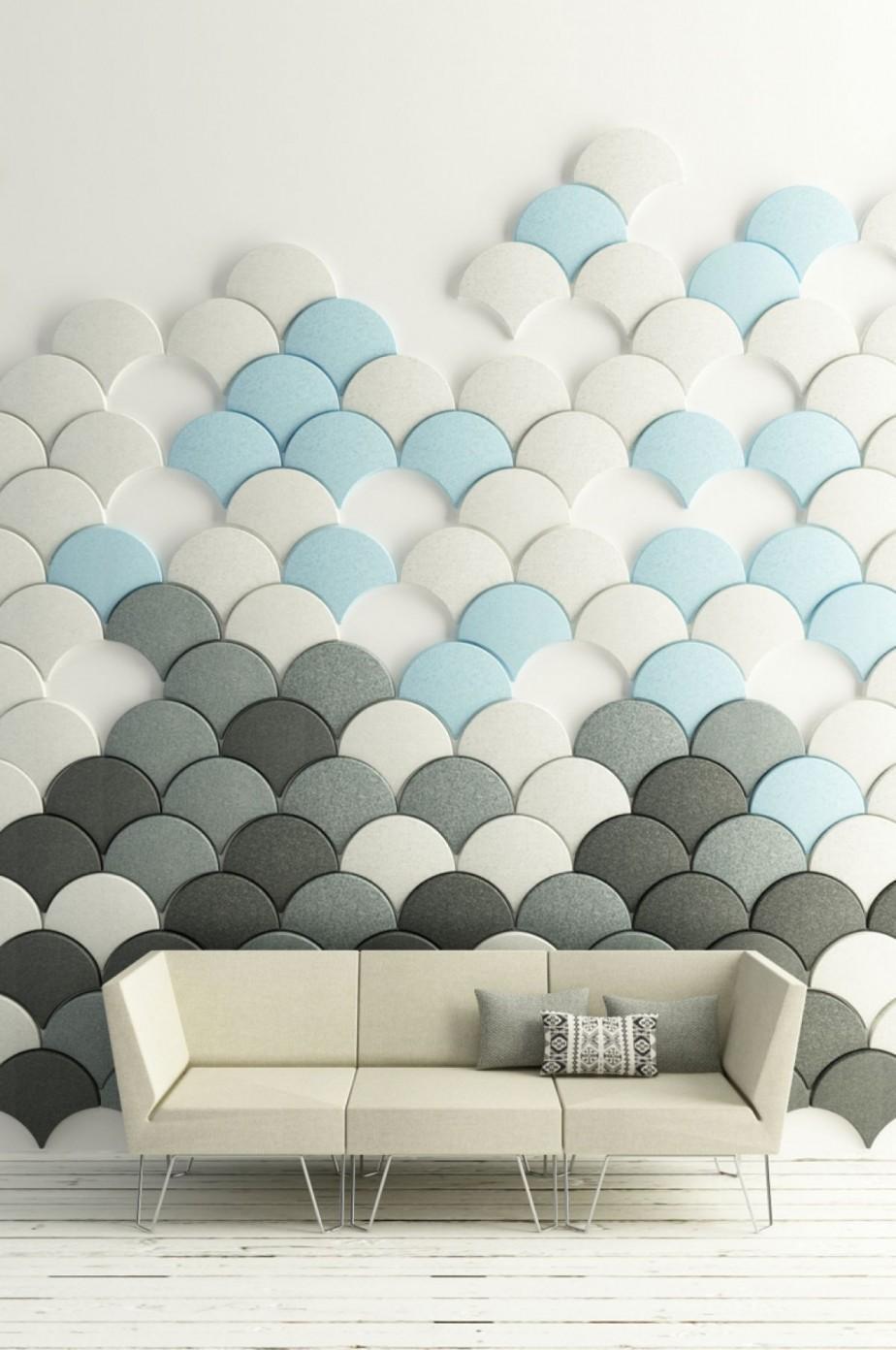 Interior: Interesting Ideas For Home Interior Decoration Design with regard to Modular Wall Art