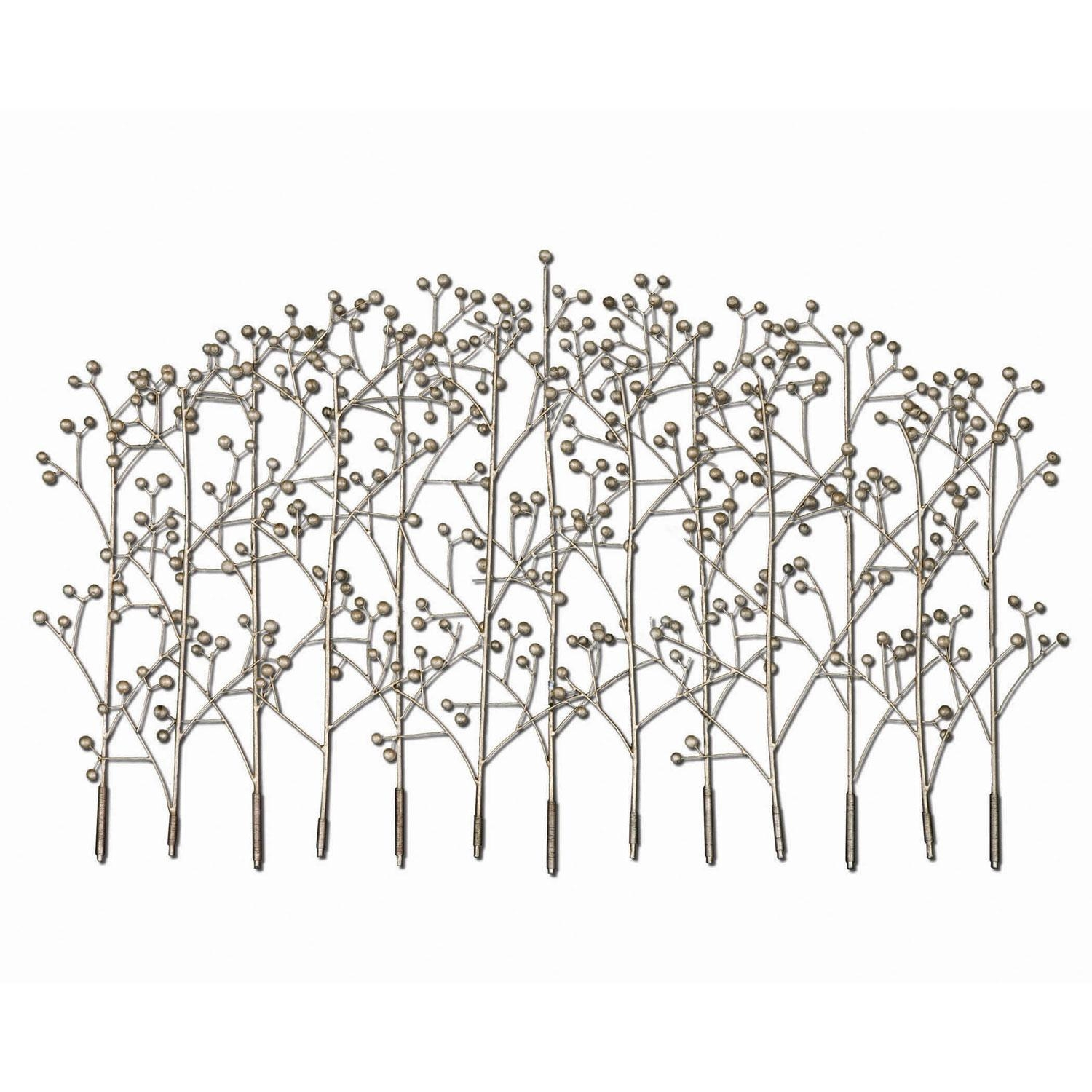 Iron Trees Metal Wall Art Uttermost Wall Sculpture Wall Decor Home In Uttermost Metal Wall Art (View 2 of 20)