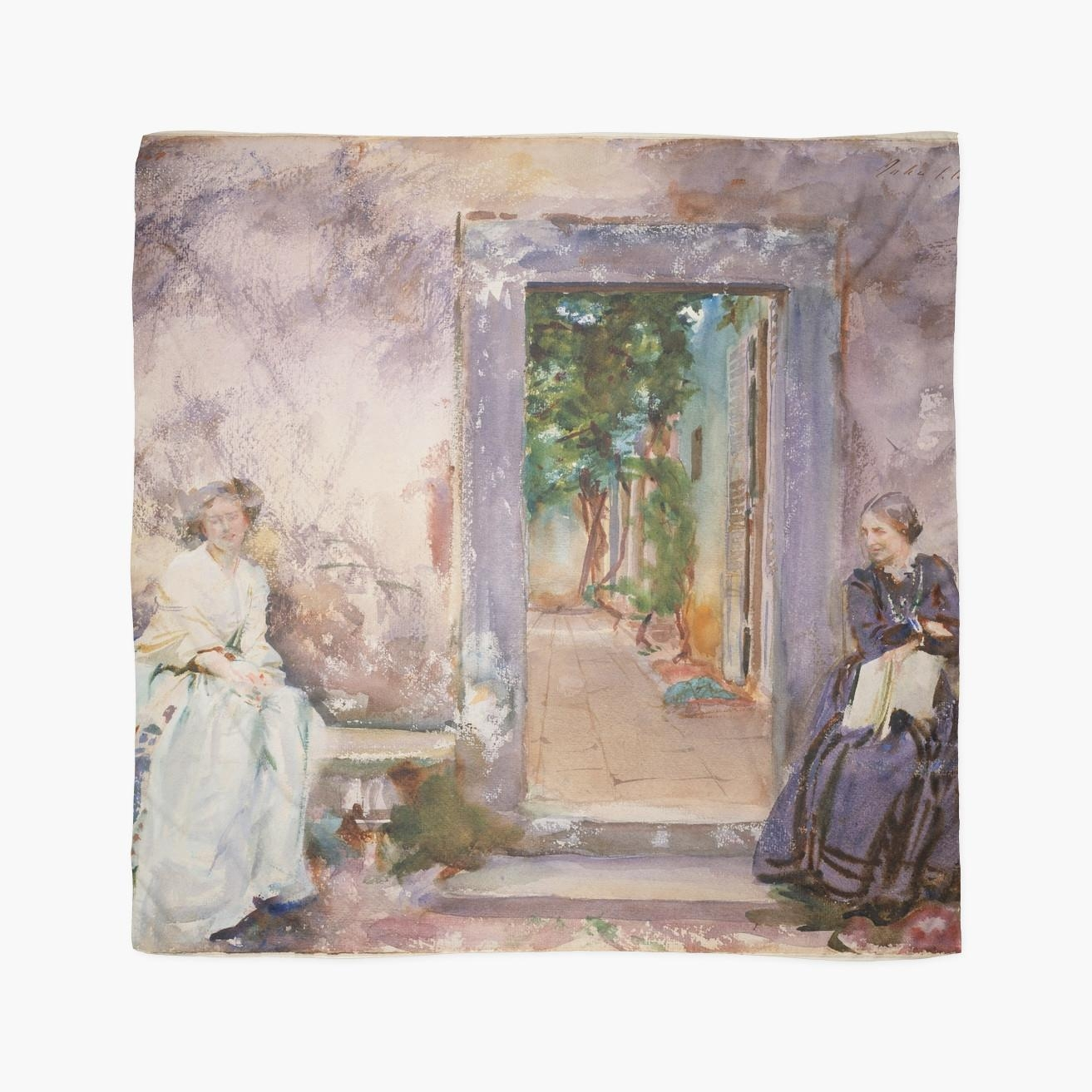 John Singer Sargent – The Garden Wall (View 9 of 20)