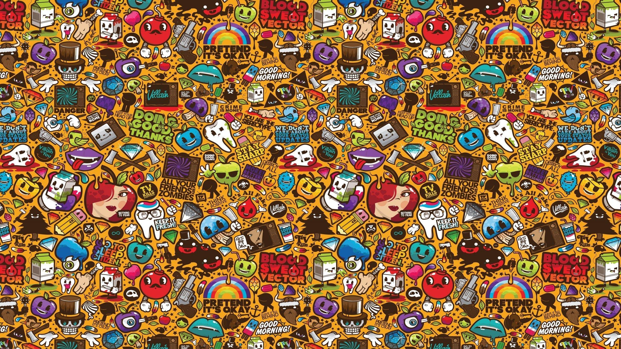 Jthree Concepts - Walldevil throughout Pop Art Wallpaper for Walls