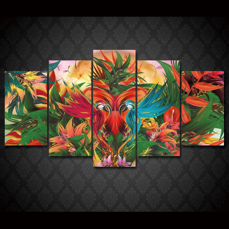Jungle Canvas Wall Art Promotion Shop For Promotional Jungle For Jungle Canvas Wall Art (View 17 of 20)