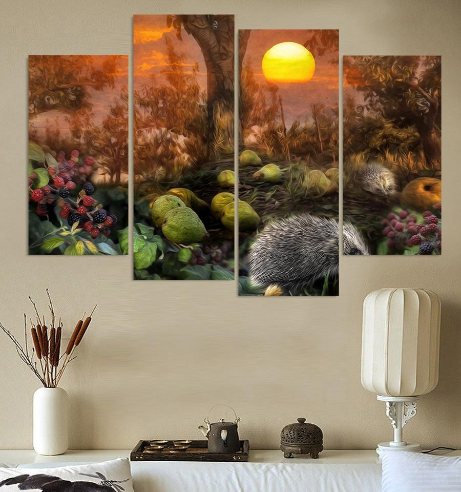 Jungle Canvas Wall Art Promotion Shop For Promotional Jungle Pertaining To Jungle Canvas Wall Art (View 3 of 20)