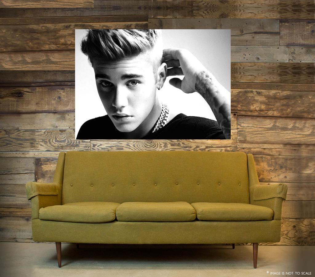Justin Bieber Wall Art – One Piece Poster (A1 – A5 Sizes) | Ebay Within Justin Bieber Wall Art (Image 10 of 20)