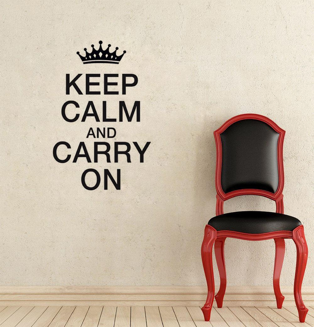 Keep Calm And Carry On Crown Copyright: Keep Calm And Wallpaper Pertaining To Keep Calm And Carry On Wall Art (View 13 of 20)