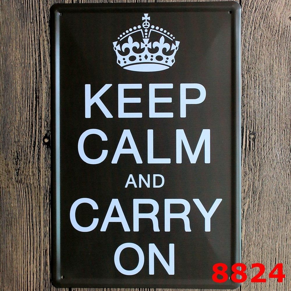 Keep Calm And Carry On Font Photo : Keep Calm Andu2026 Poster With Keep Calm And Carry On Wall Art (Image 8 of 20)