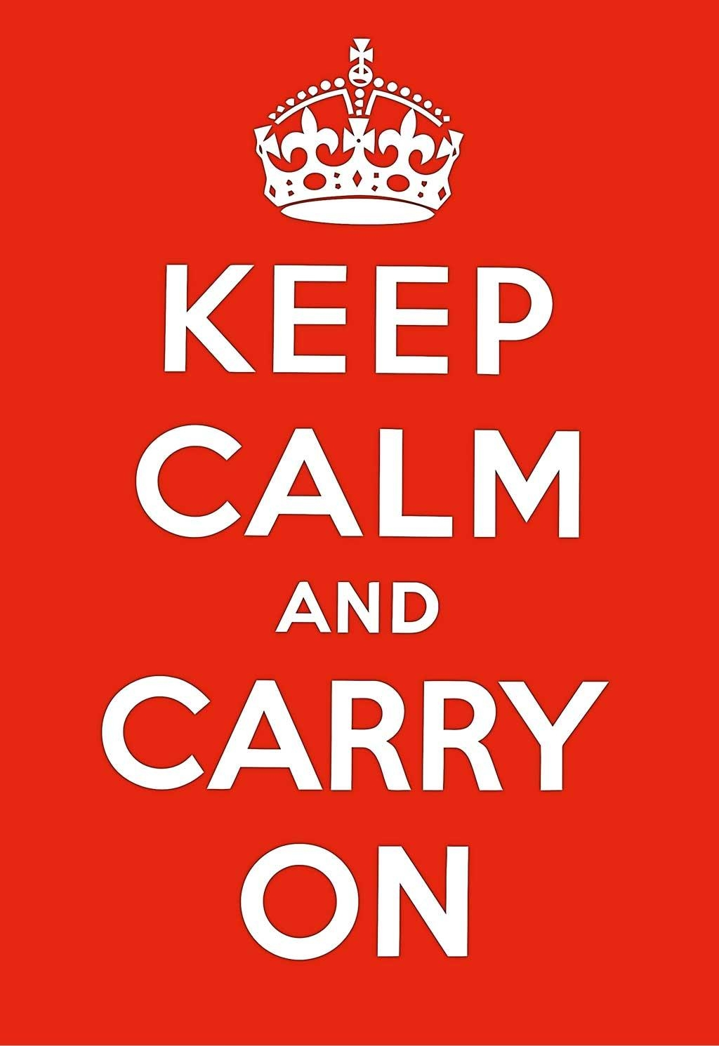 Keep Calm And Carry On Poster Prints Wall Decoration Art Pictures In Keep Calm And Carry On Wall Art (View 4 of 20)