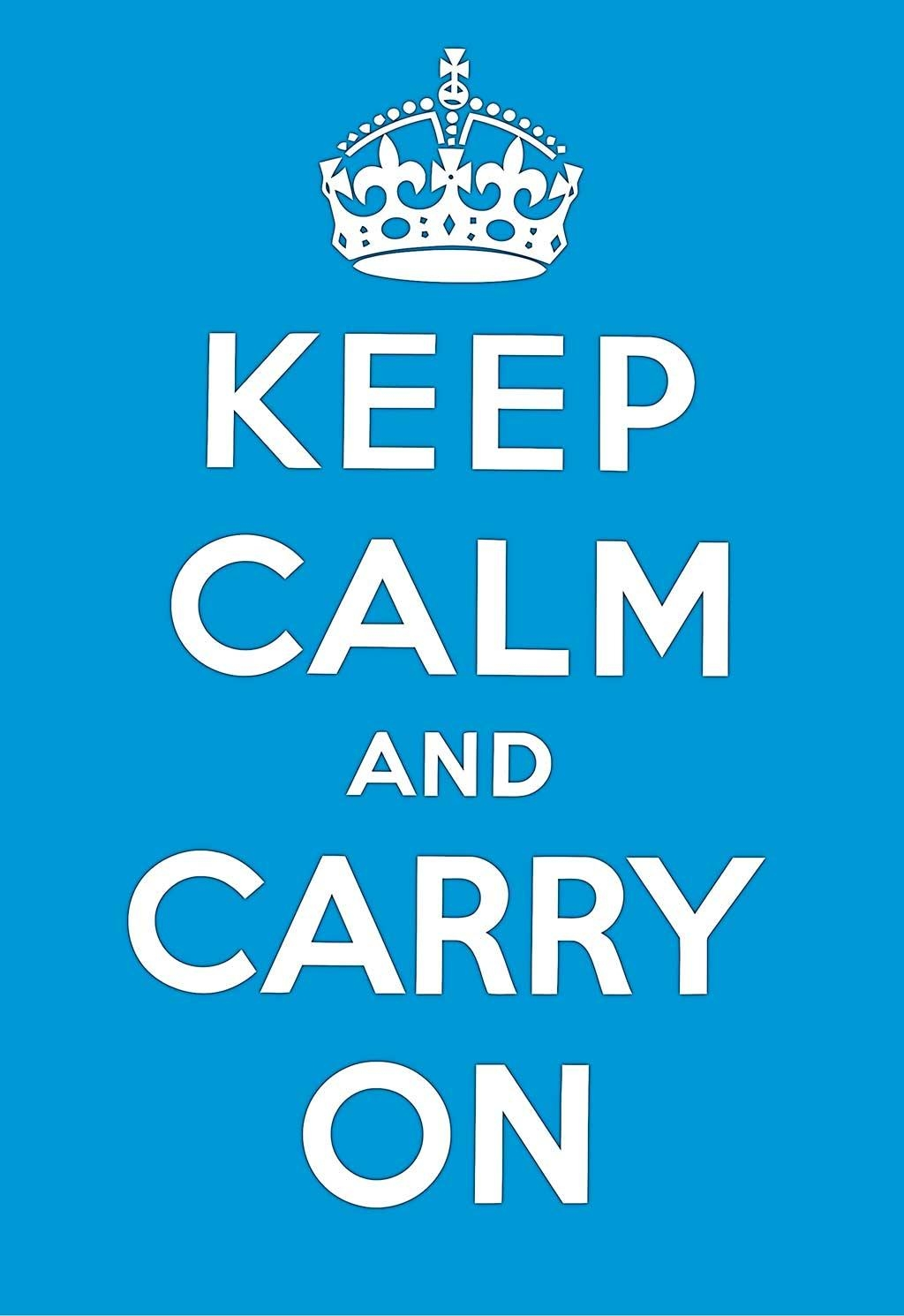 Keep Calm And Carry On Poster Prints Wall Decoration Art Pictures With Keep Calm And Carry On Wall Art (View 5 of 20)
