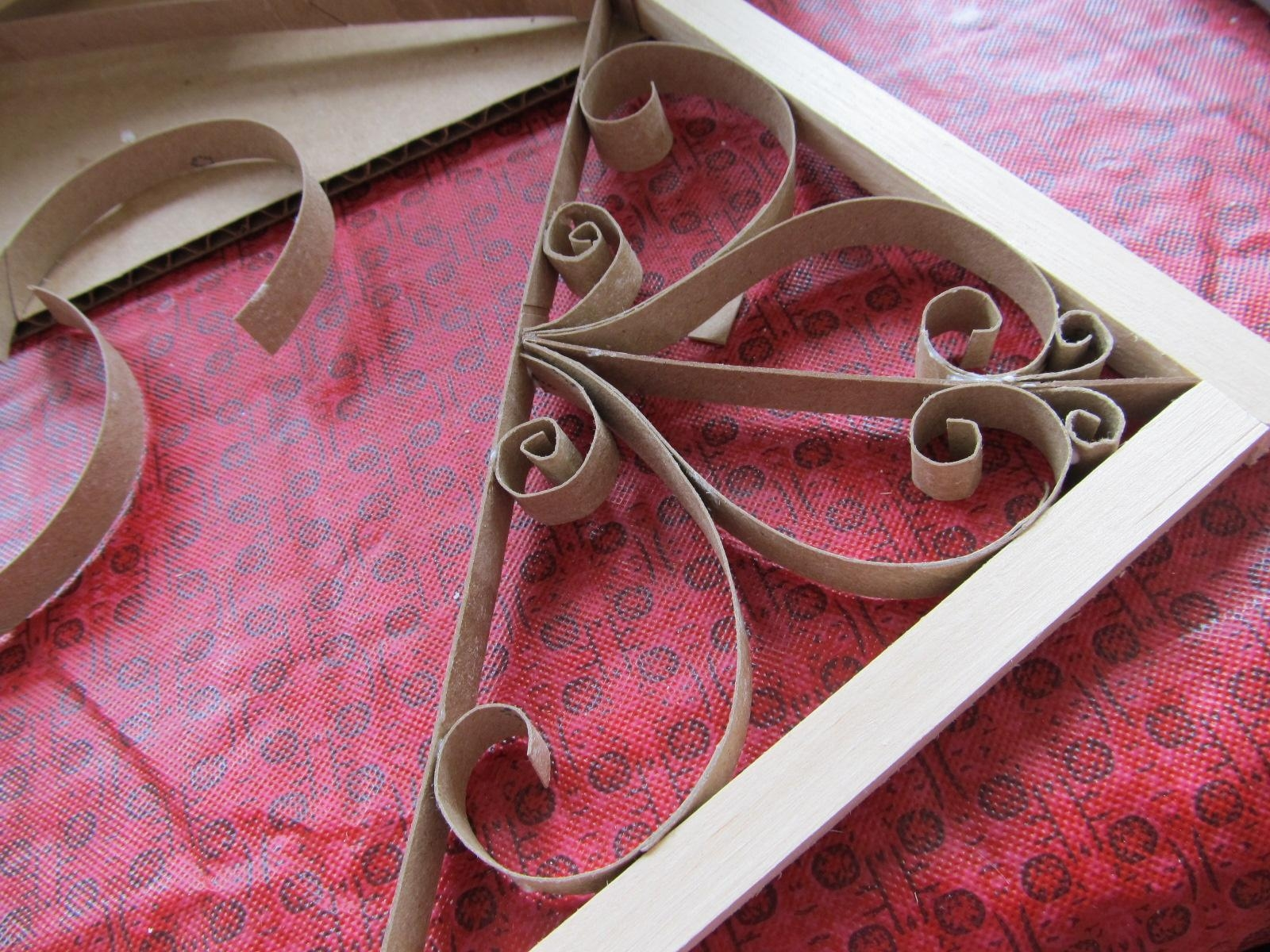 Keep Calm & Diy: Faux Wrought Iron Toilet Paper Roll Art Pertaining To Faux Wrought Iron Wall Art (View 5 of 20)