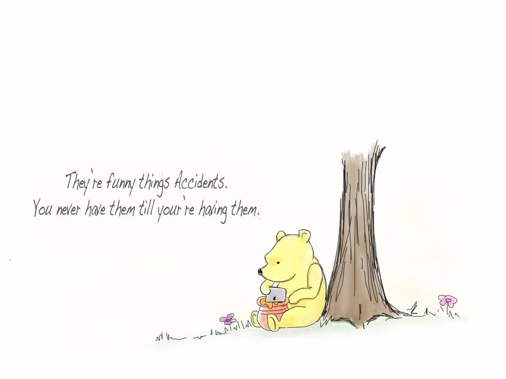 Kevin Barba's Art Blog: Classic Pooh Gets An Ipad Regarding Classic Pooh Art (Image 11 of 20)