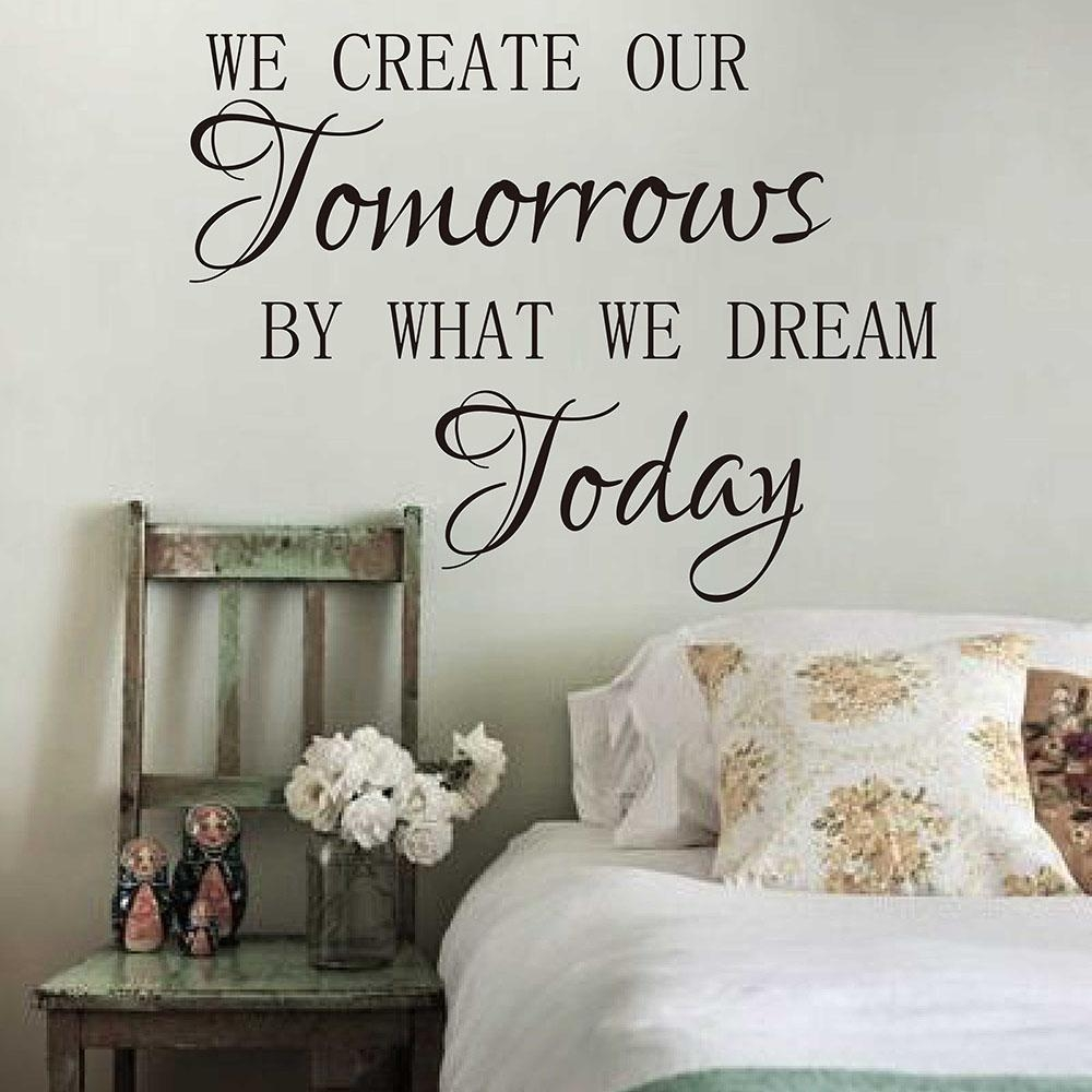 Kid Quotes Promotion Shop For Promotional Kid Quotes On Aliexpress With Inspirational Wall Decals For Office (View 16 of 20)