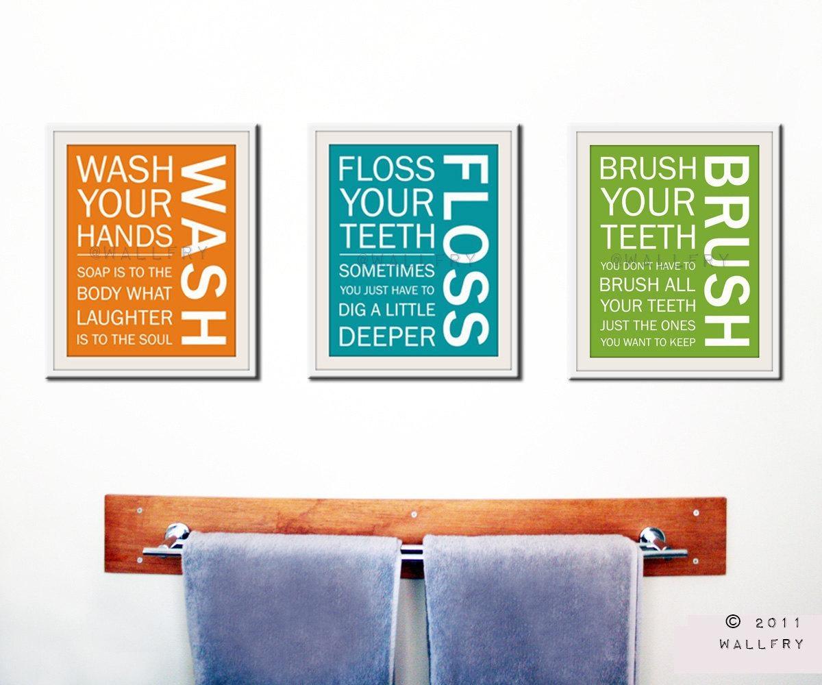 Kids Bath Wall Art. Bathroom Rules (Image 15 of 20)