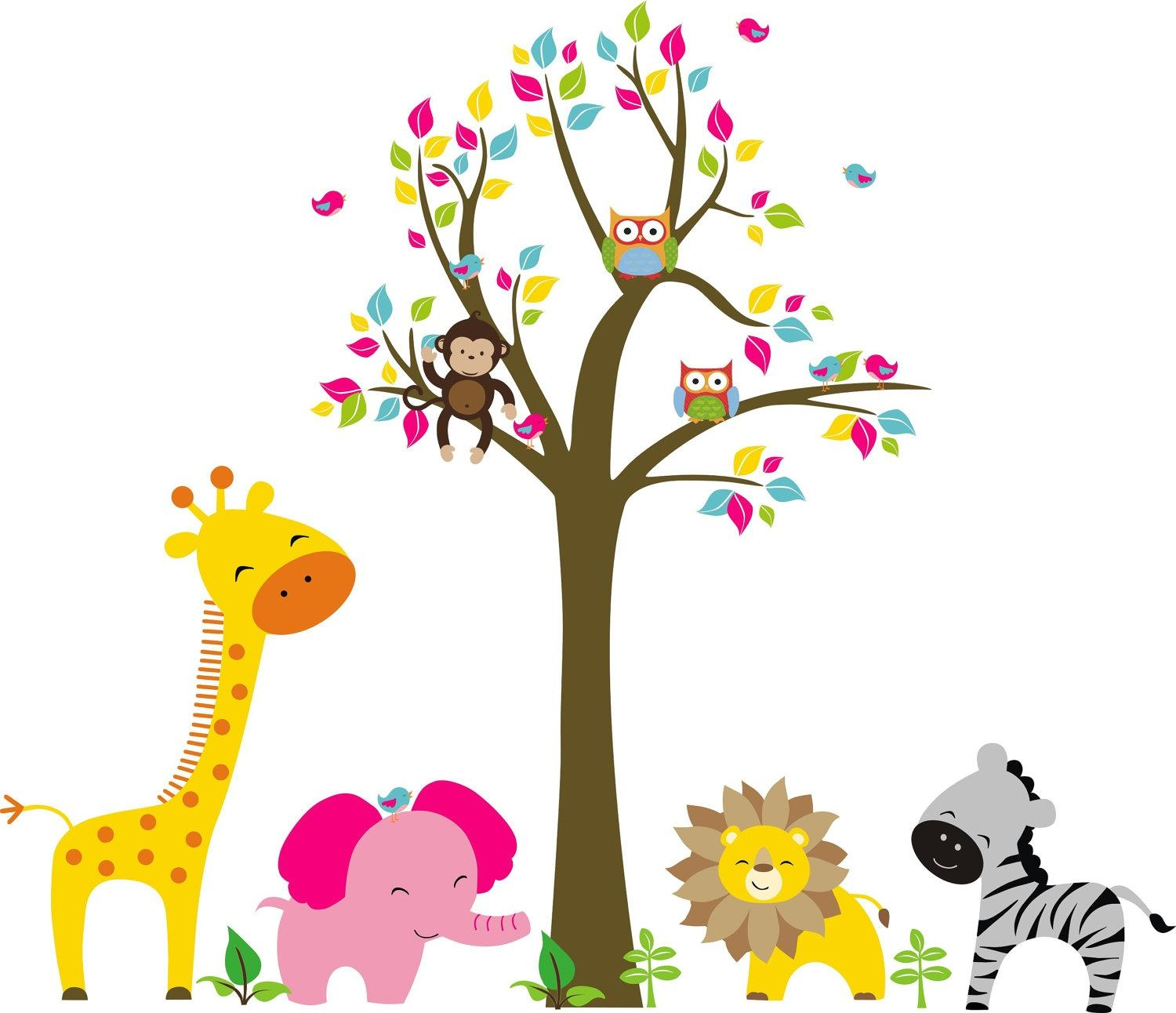 Kids Room: Wall Decal Ideas For Wall Decorations Wall Stickers With Regard To Children Wall Art (View 16 of 20)