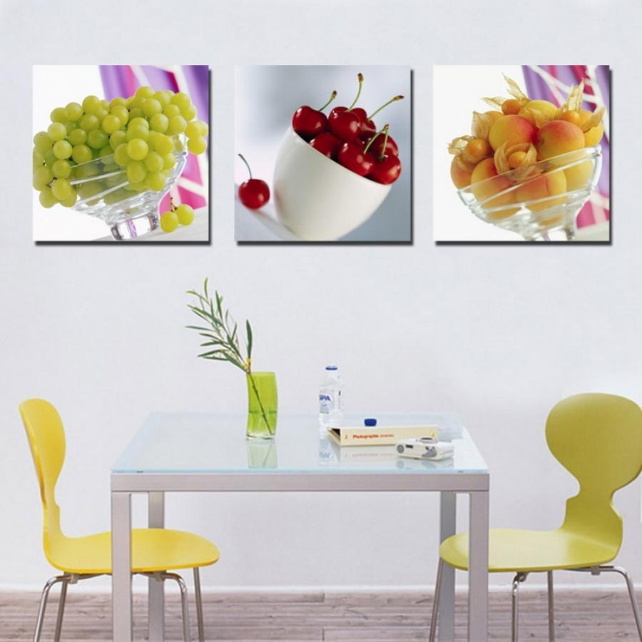 Kitchen : 63 Unique Kitchen Wall Art Ideas Kitchen Wall Decor Regarding Large Wall Art For Kitchen (View 9 of 20)