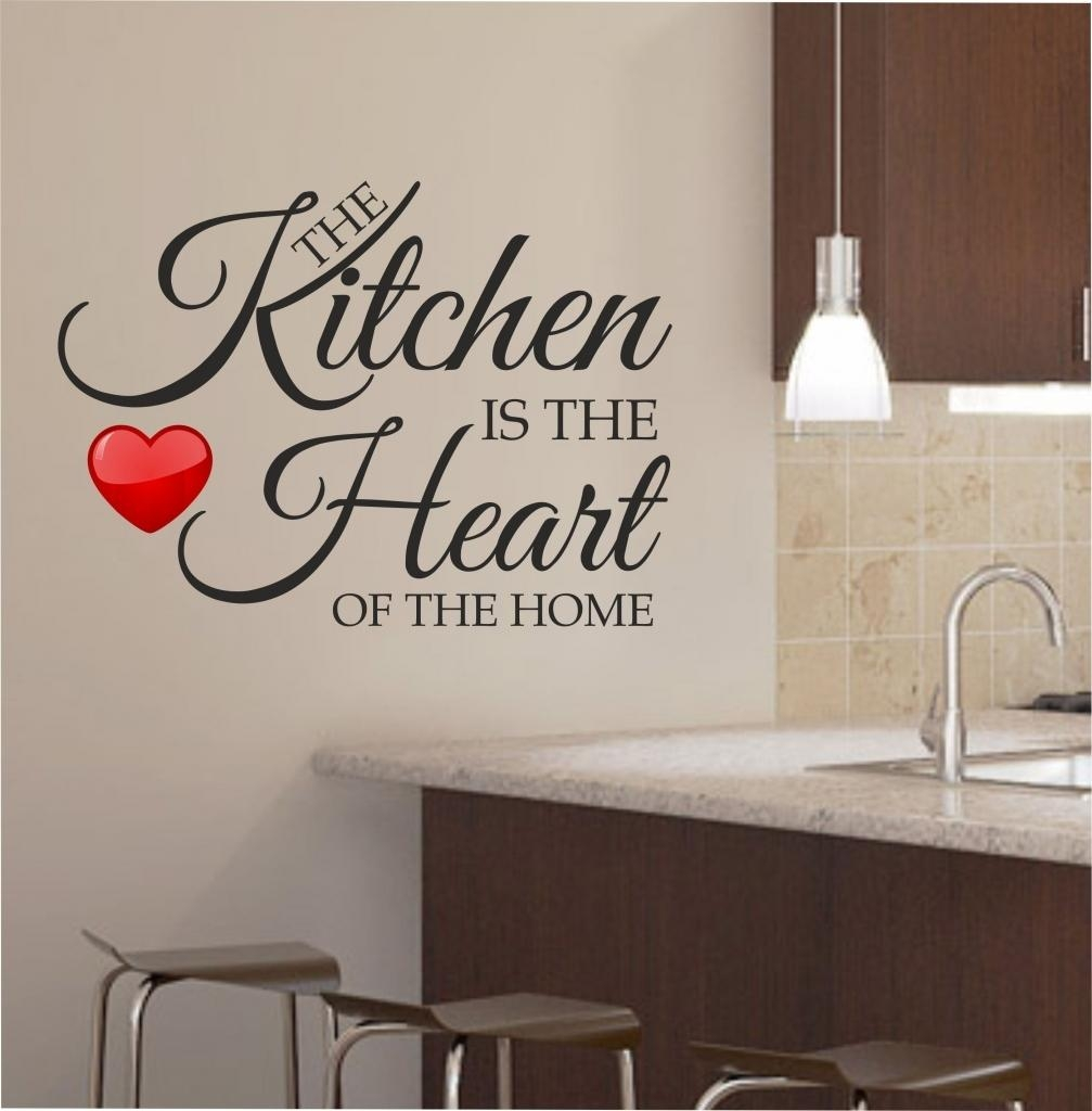 Kitchen ~ Supreme Most Kitchen Wall Decor Kitchen Wall Decor Along Within Large Wall Art For Kitchen (View 15 of 20)