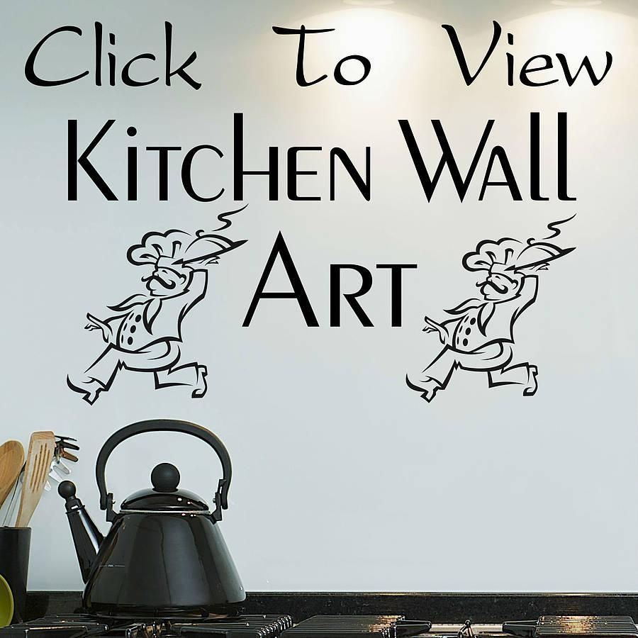 Kitchen Wall Art Decals : The Important Of Kitchen Wall Decals For Intended For Kitchen Wall Art (Image 10 of 20)