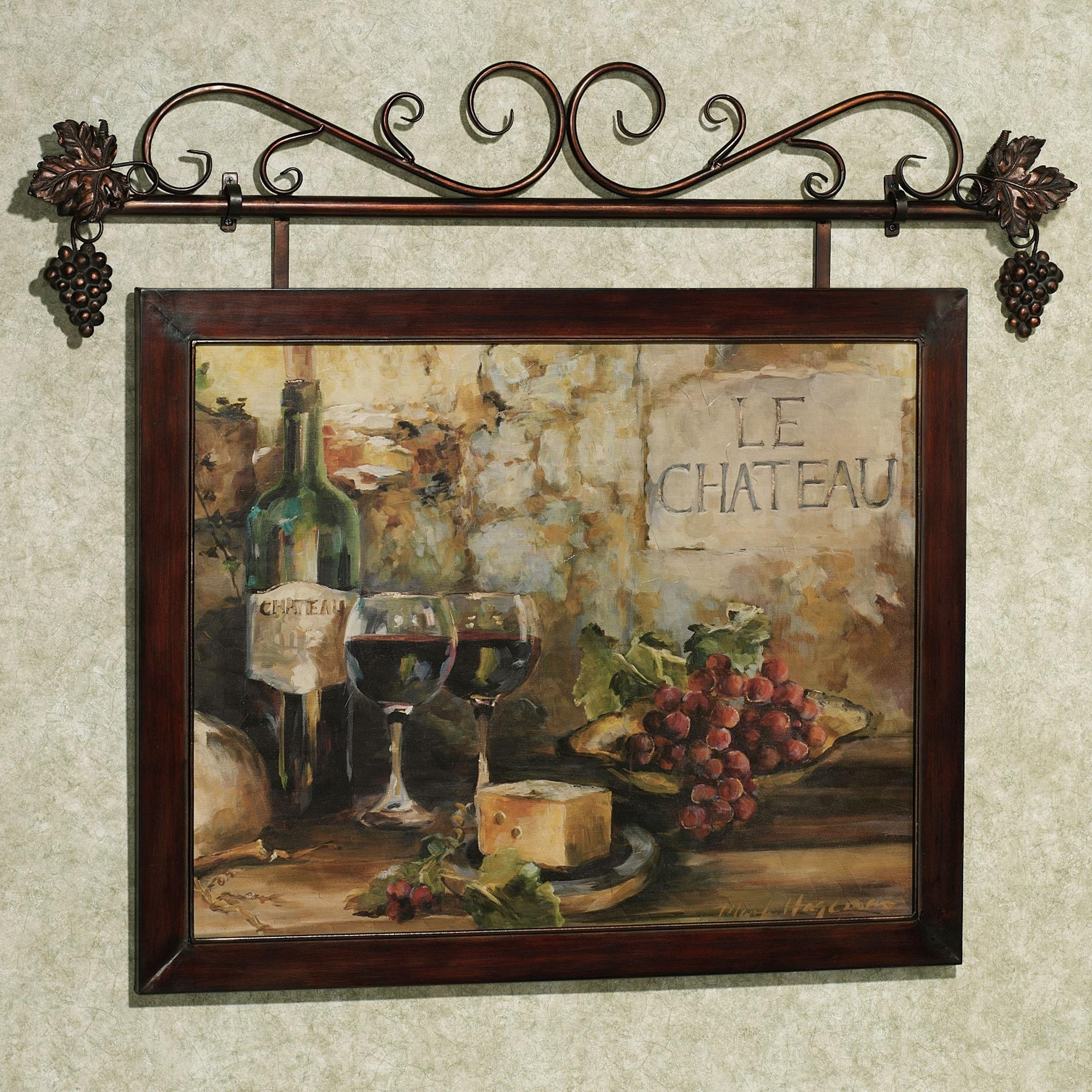 Kitchen Wall Art Decor | Roselawnlutheran Intended For Wine Theme Wall Art (Image 8 of 20)