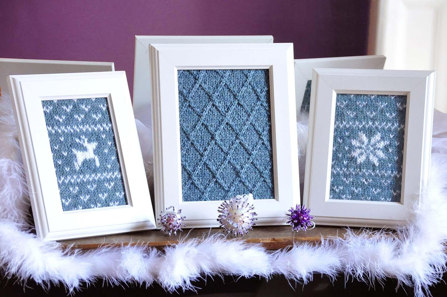 Knitted Wall Art – Knitting Is Awesome Inside Owl Framed Wall Art (View 10 of 20)