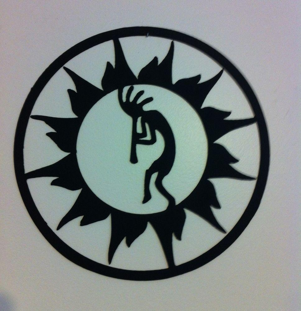 Kokopelli Metal Wall Art Kokopelli In Sun Circle Wall Art Throughout Kokopelli Metal Wall Art (Image 16 of 20)