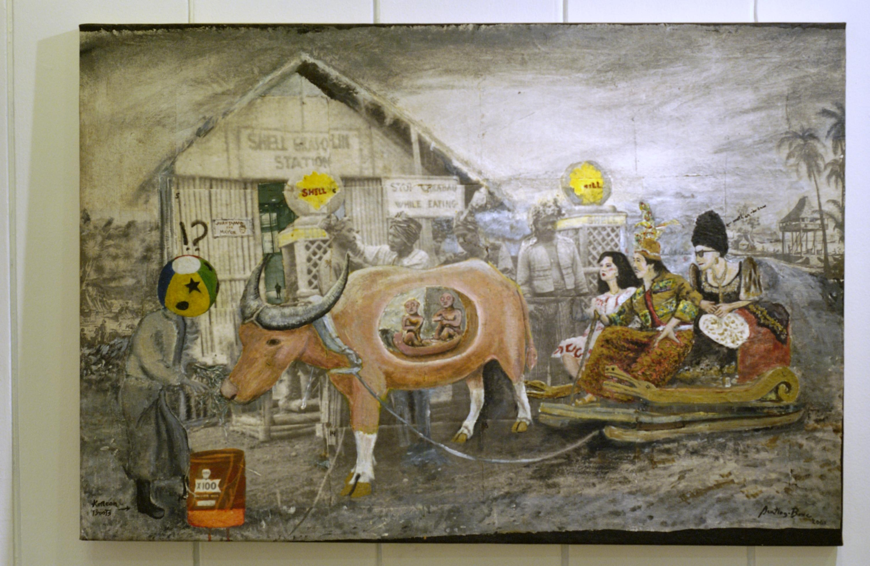 Kulay Diwa Gallery Of Philippine Contemporary Art – Santiago Bose Within Filipino Wall Art (Image 10 of 20)