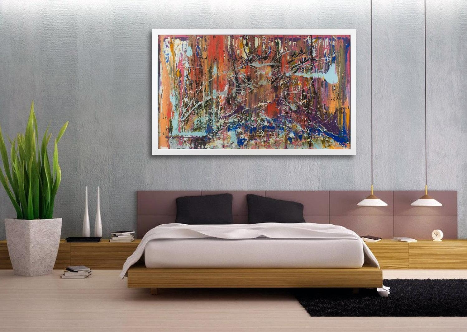 Featured Image of Oversized Abstract Wall Art
