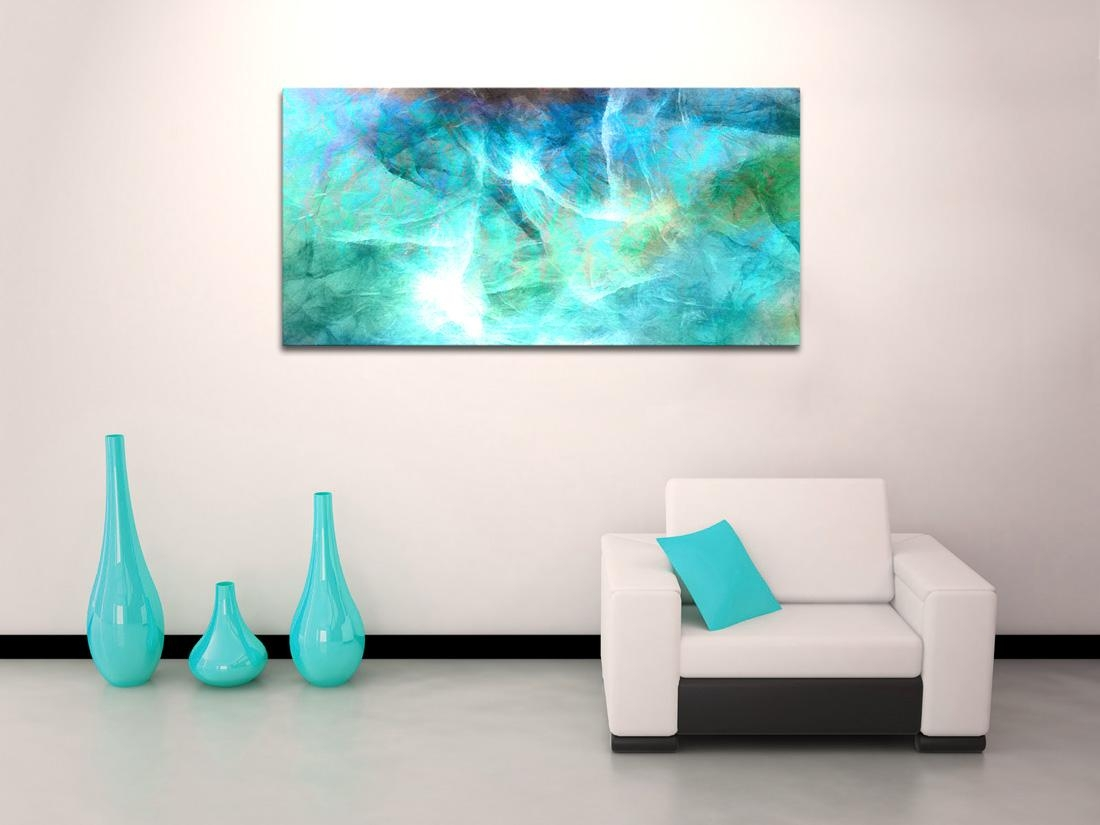 Large Abstract Art On Canvas Archives – Cianelli Studios Art Blog Regarding Large Teal Wall Art (View 15 of 20)