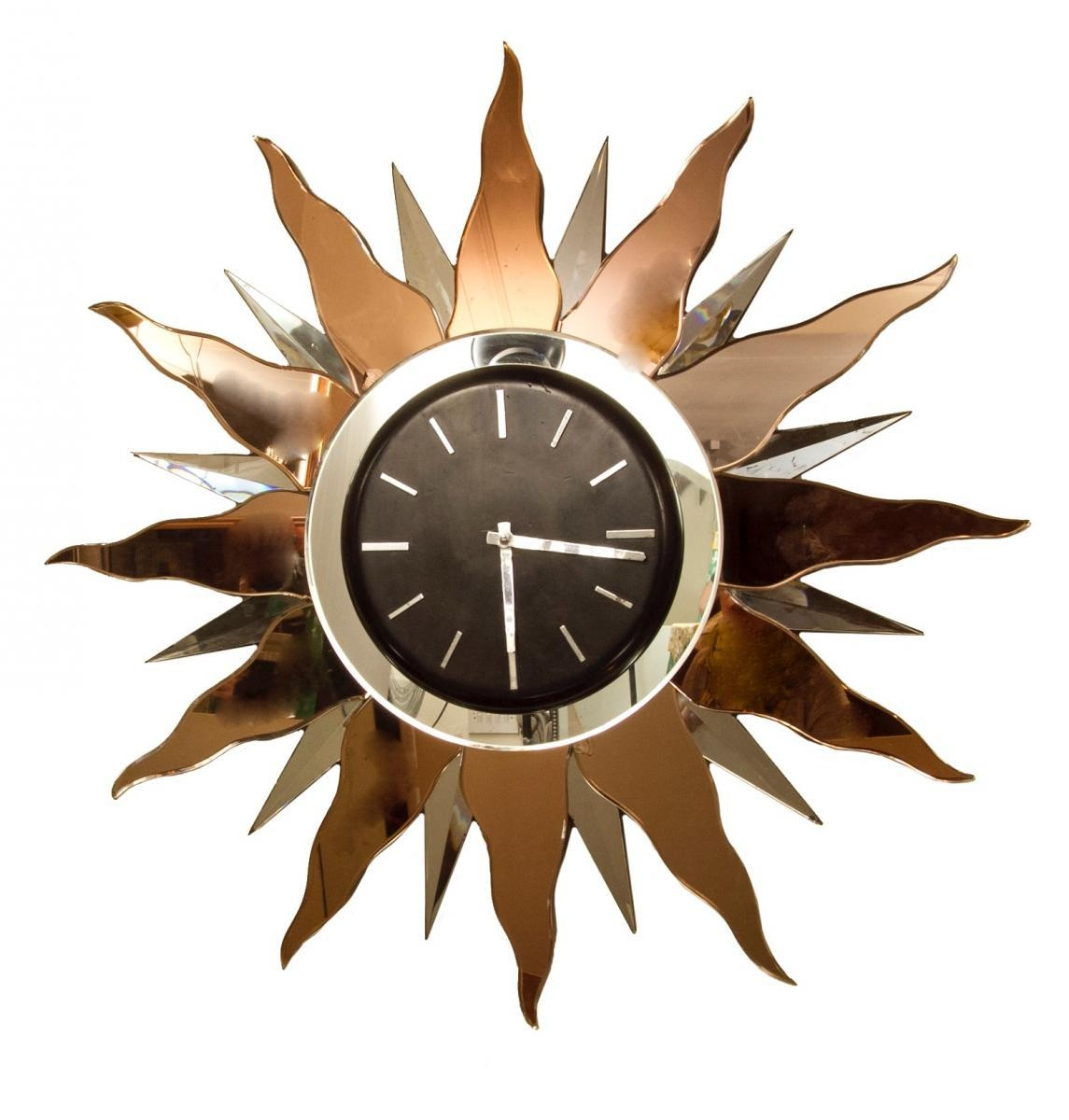 Large Art Deco Wall Clock, 1930S For Sale At Pamono With Large Art Deco Wall Clocks (Image 12 of 20)