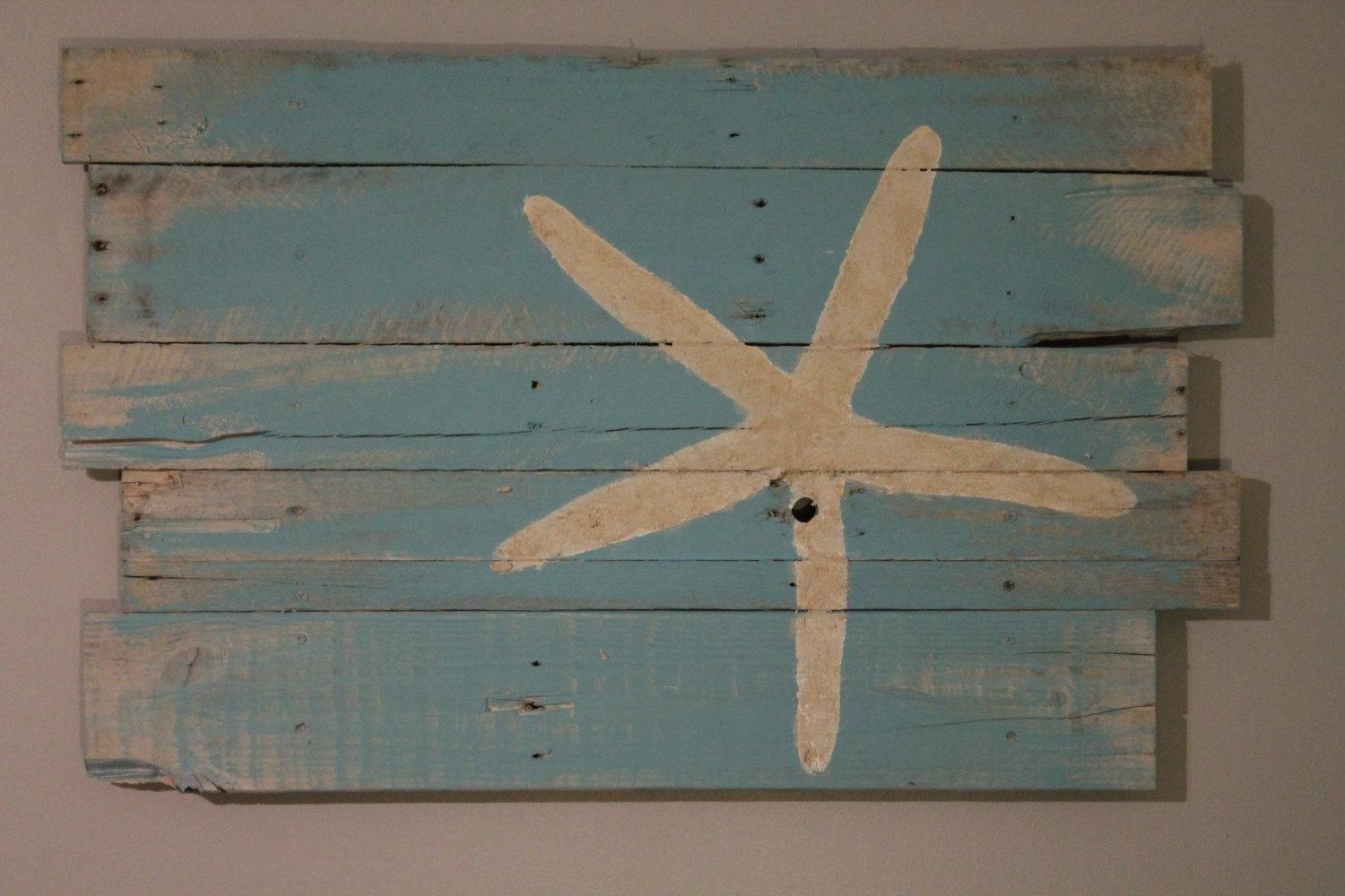 Large Metal Starfish Wall Decor : How To Do Starfish Wall Decor Throughout Large Starfish Wall Decors (Image 11 of 20)