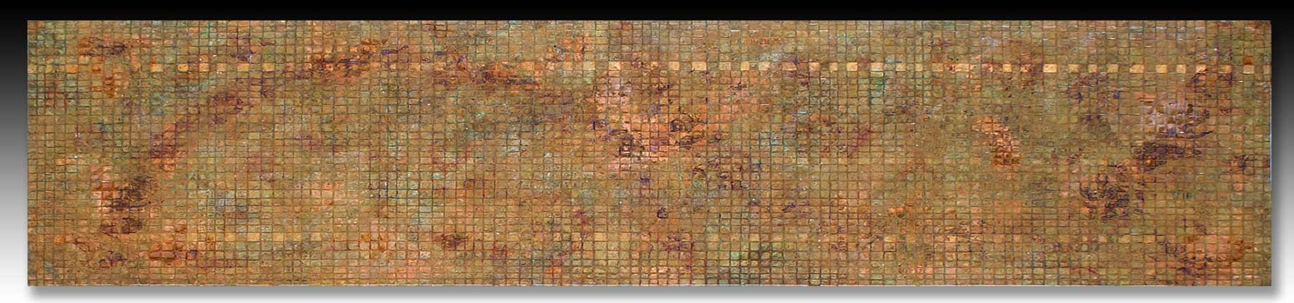Large Metal Wall Art > Very Large Copper Art Weaving > Copper Wall Art Regarding Large Copper Wall Art (Image 13 of 20)