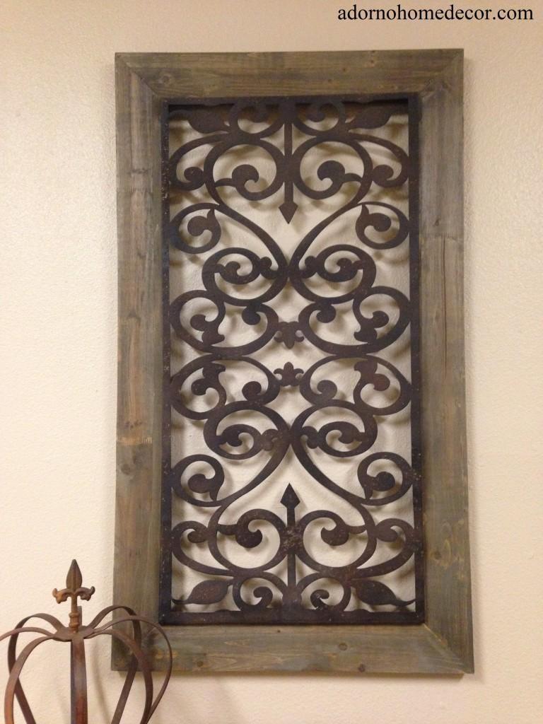 Large Metal Wood Wall Panel Antique Vintage Rustic Chic Industrial Inside Vintage Industrial Wall Art (View 16 of 20)