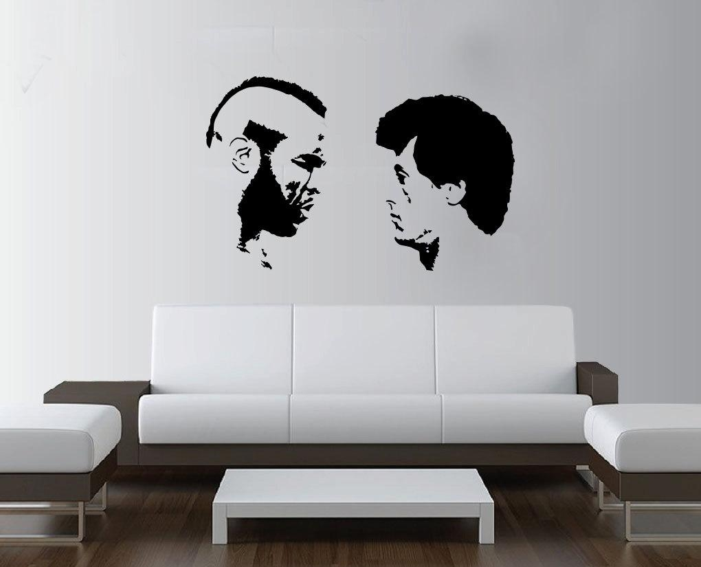 Large Rocky Balboa Boxing Mr T Wall Art Decal Mural Sticker For Rocky Balboa Wall Art (Image 7 of 20)