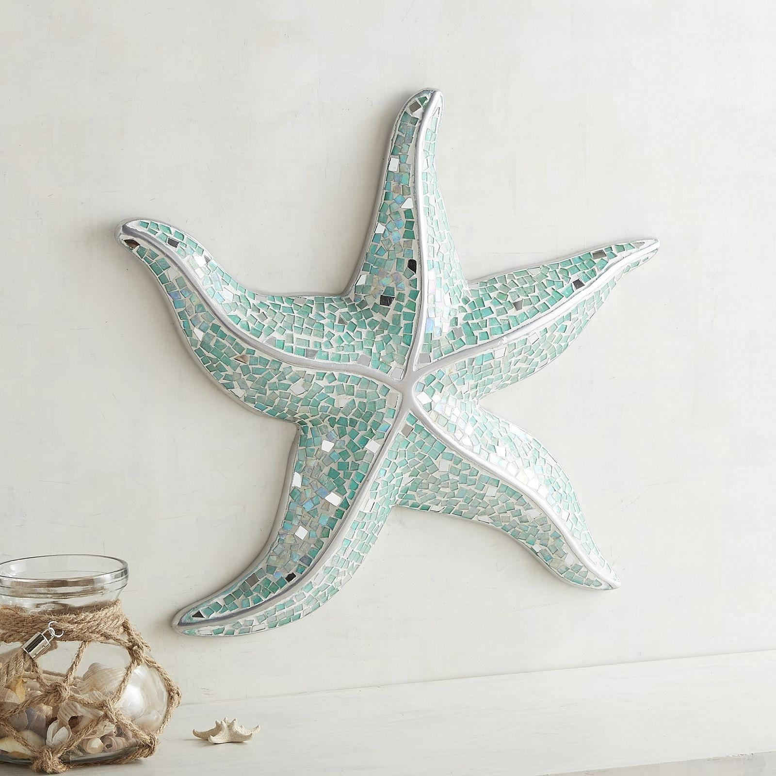 Large Starfish Wall Pictures Of Photo Albums Starfish Wall Decor In Large Starfish Wall Decors (Image 16 of 20)