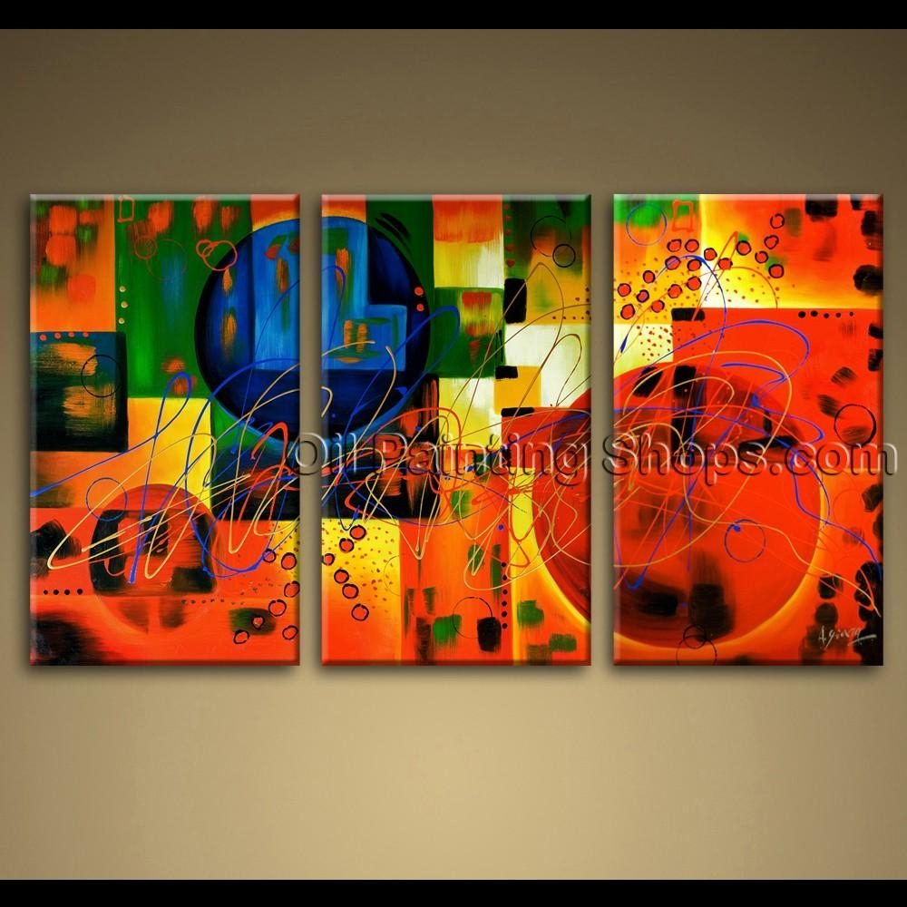 Featured Image of Colorful Abstract Wall Art