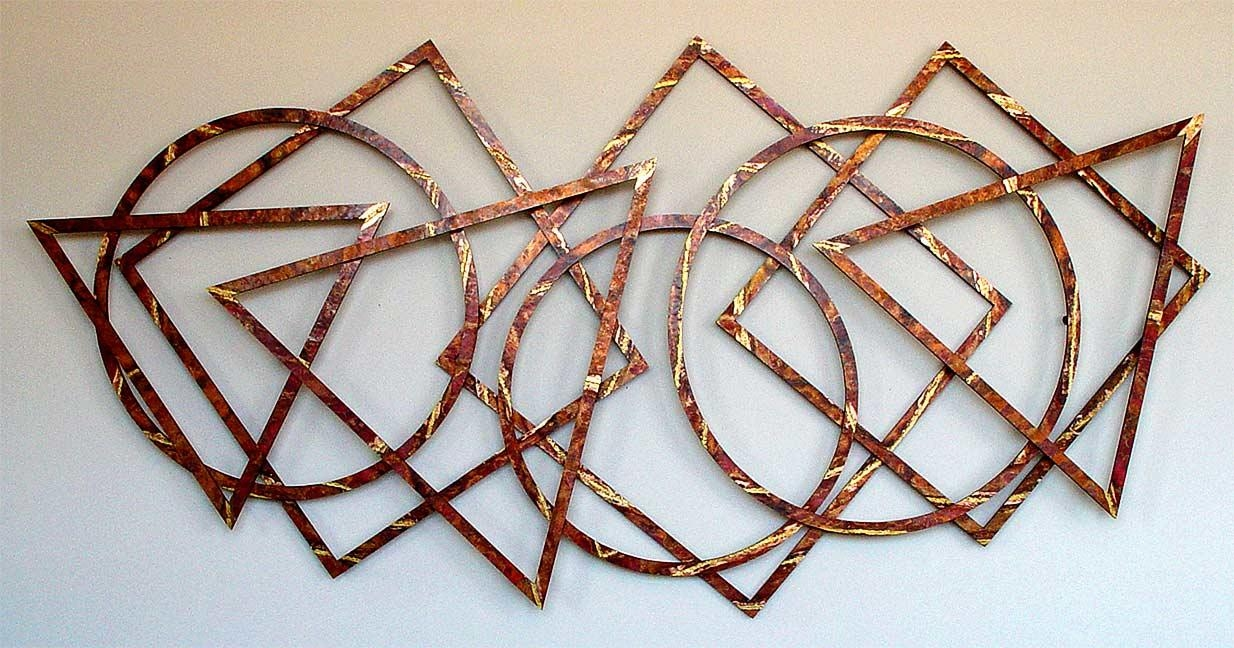 Large Wall Sculptures >Triptychs Wall Sculpture > Big Wall Sculptures Within Large Copper Wall Art (View 7 of 20)