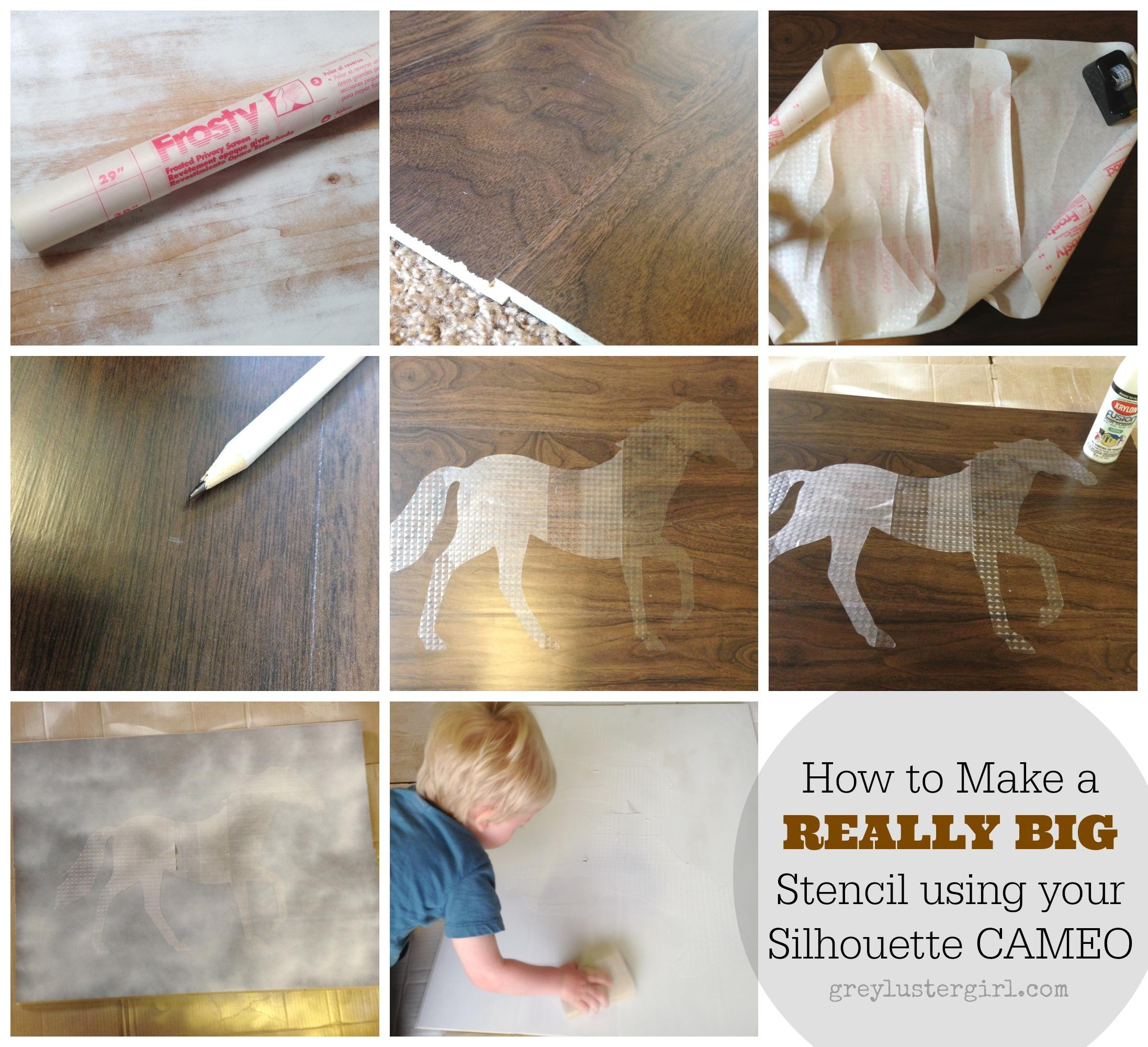 Large Wood Horse Wall Art And Silhouette Portrait Giveaway – Throughout Cameo Wall Art (Image 14 of 20)