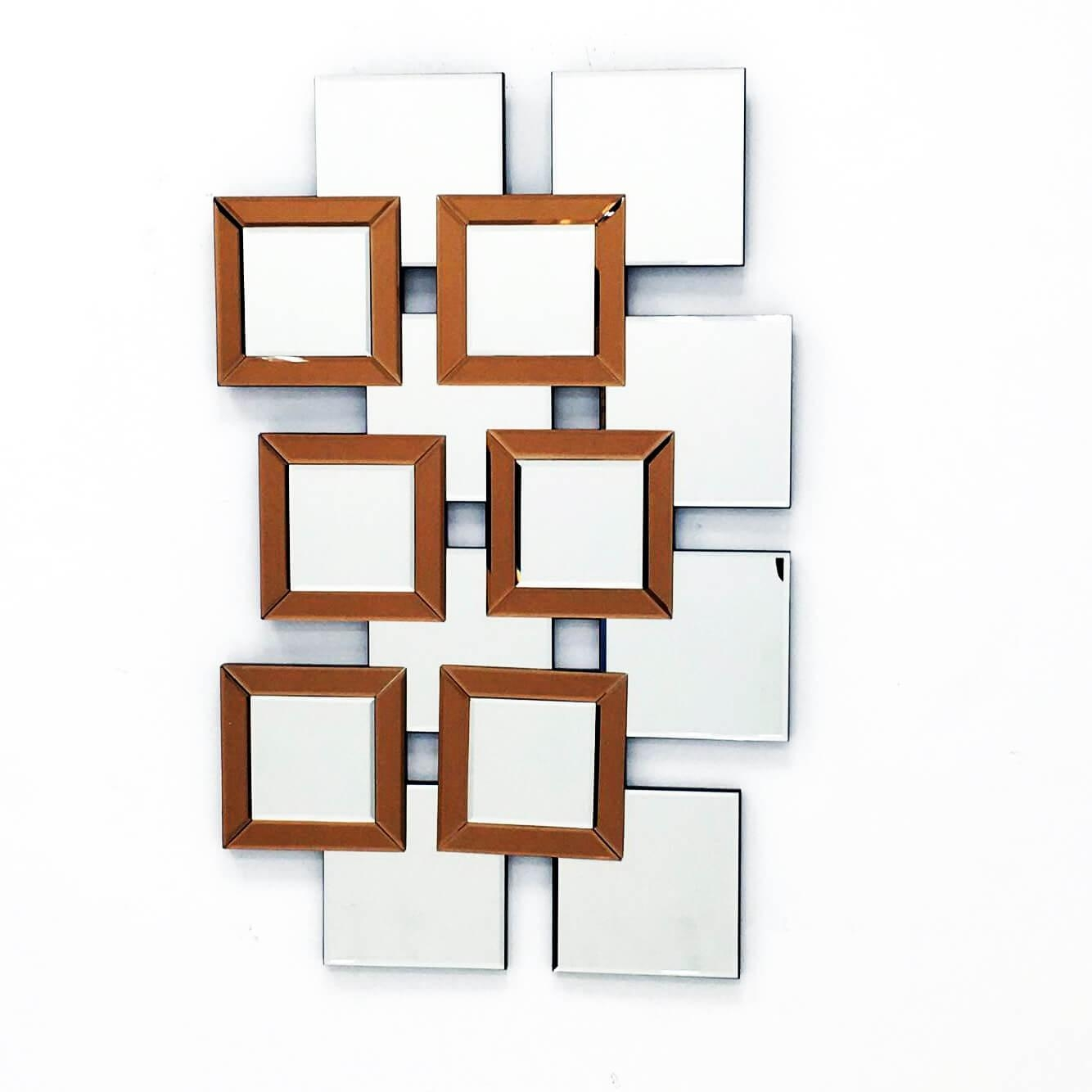 L'artiste – Modern Mirror Wall Art Design L (View 7 of 20)