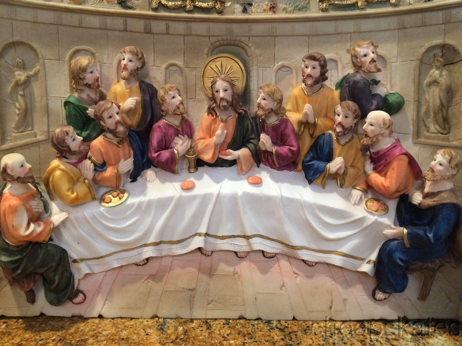 """Last Supper 3D Wall Artluciana Designs 20""""x3""""x12"""" Discounted Throughout Last Supper Wall Art (View 13 of 20)"""