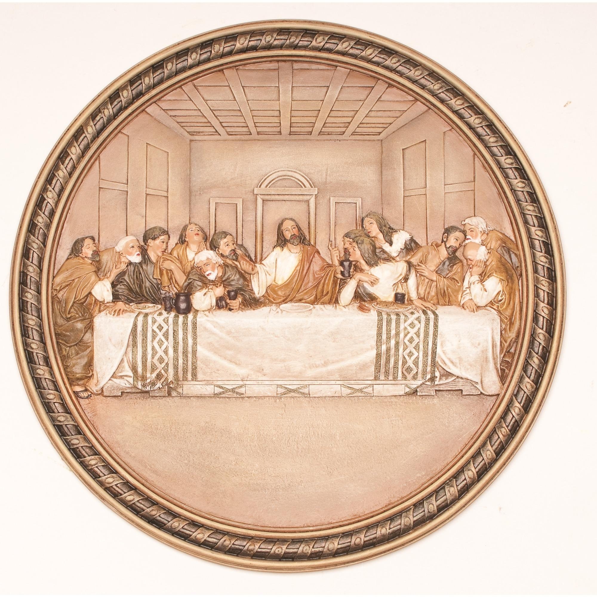 Last Supper Art: Prints, Paintings & Figures | The Catholic Company Pertaining To Last Supper Wall Art (View 17 of 20)