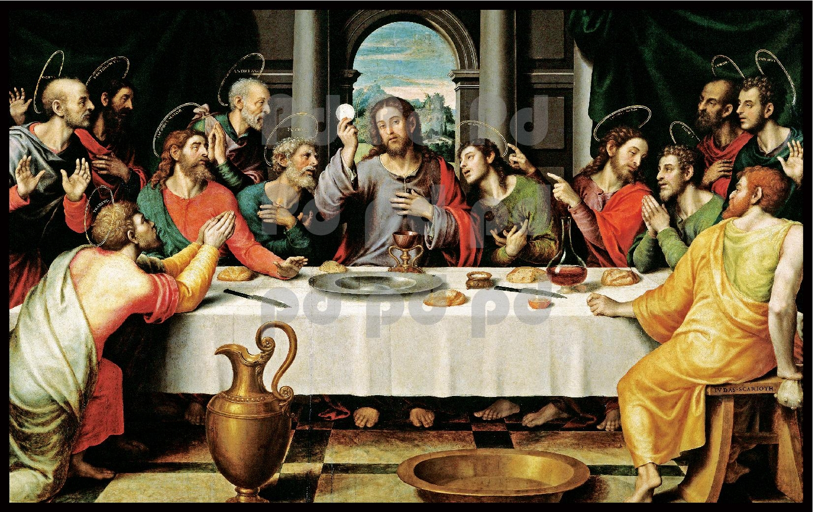 Last Supper Wall Art – Wall Art Design In Last Supper Wall Art (View 4 of 20)