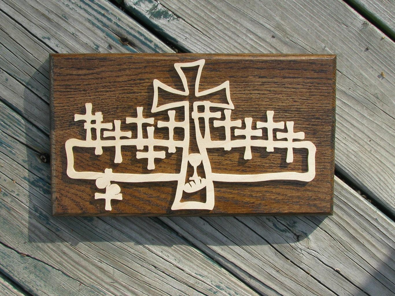 Last Supper Wood Wall Art Pastor Appreciation Gift Christmas With Regard To Last Supper Wall Art (View 2 of 20)