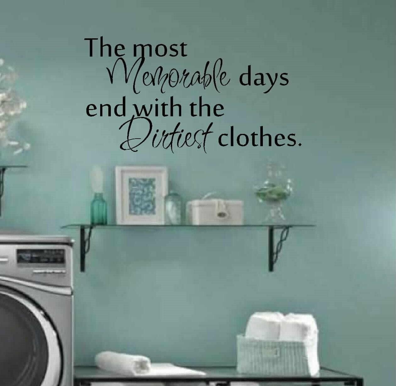 Superb ... Decal · Featured Image Of Laundry Room Wall Art Decors ...