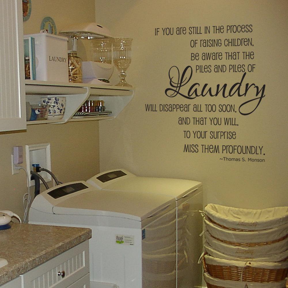 Laundry Room Wall Sayings – Creeksideyarns Regarding Laundry Room Wall Art Decors (View 13 of 20)