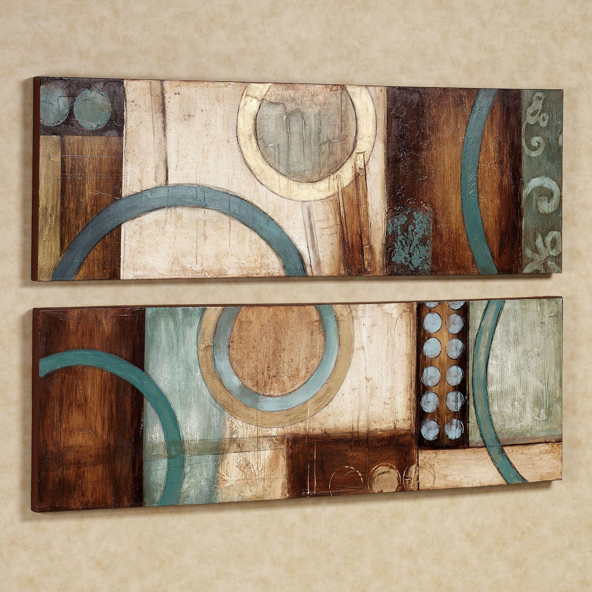 Featured Image of Abstract Canvas Wall Art