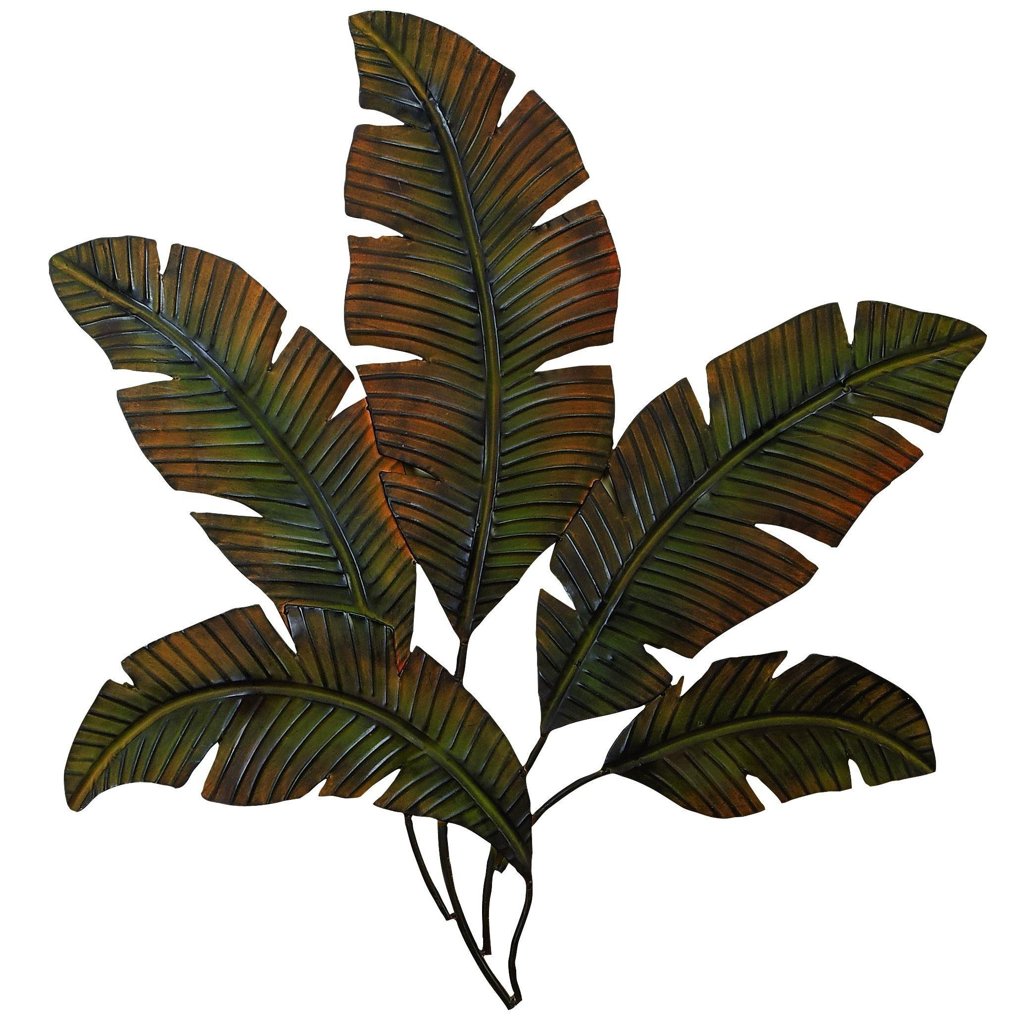 Leaf Wall Decor | Roselawnlutheran Pertaining To Palm Leaf Wall Decor (Image 9 of 20)