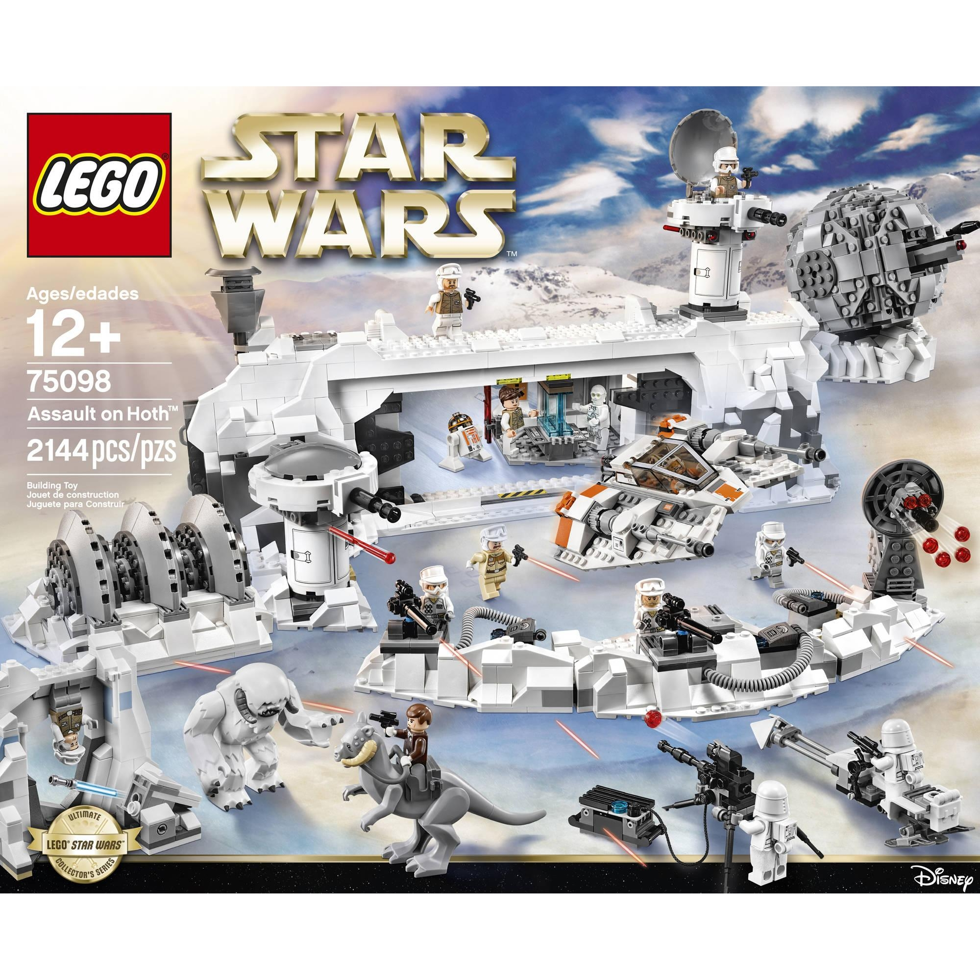 Lego Star Wars Assault On Hoth – Walmart With Lego Star Wars Wall Art (View 17 of 20)
